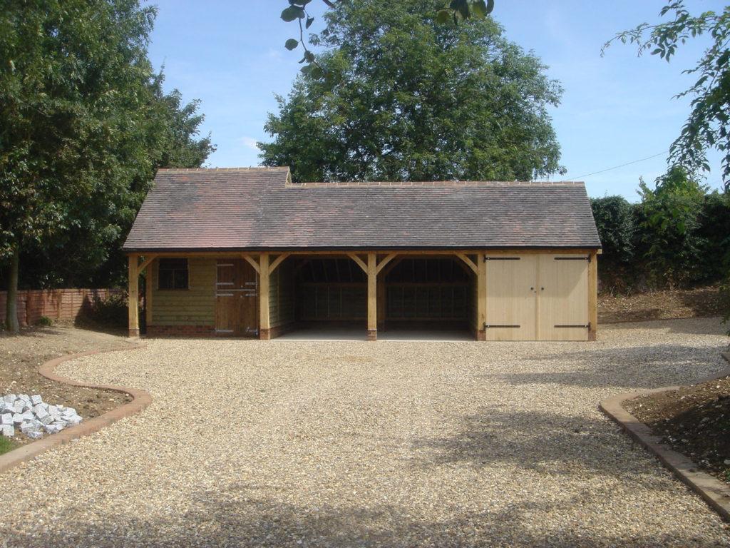 Oak Framed Garages Kent Surrey And Sussex Chartwell Oak