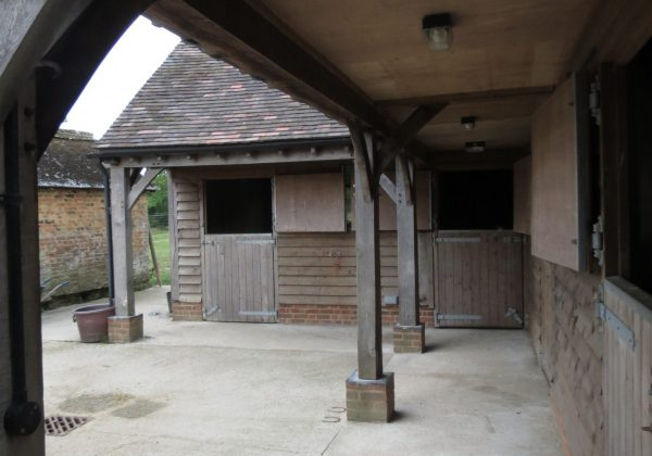 Bespoke timber stables
