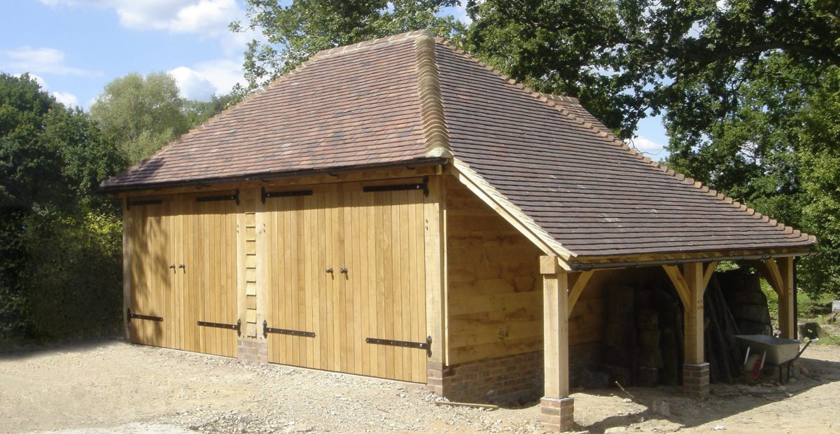 Oak Framed Garages Kent Surrey And Sussex Chartwell Oak