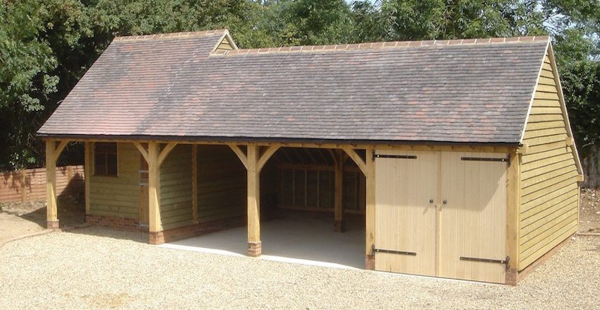 Oak framed garages kent
